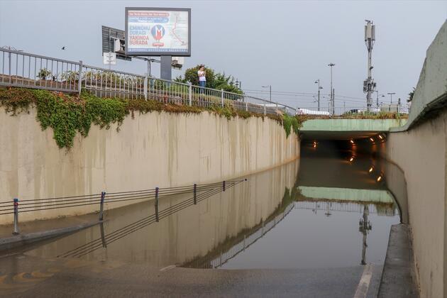 İstanbul yağışa teslim oldu