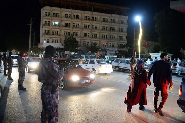Tokat'ta ortalık savaş alanına döndü