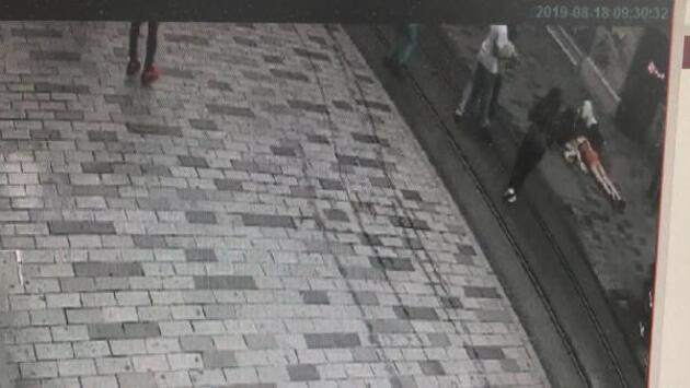 Taksim'de dehşet saçan motosiklet sürücüsü gözaltına alındı