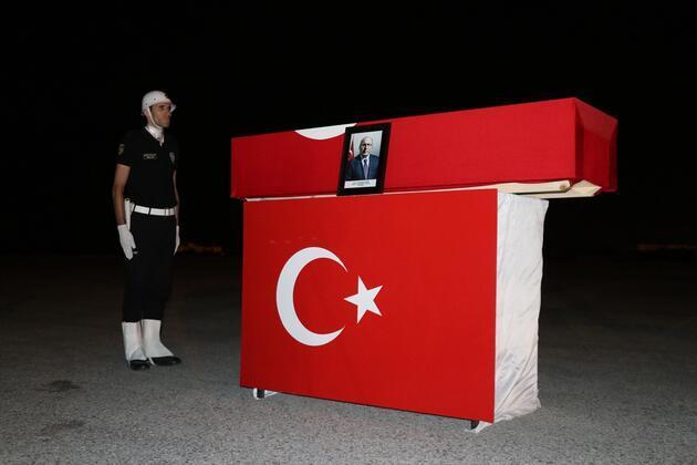 HalukDursun'un cenazesi İstanbul'a getirildi