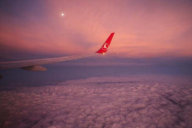 Dünyanın güzelliklerine uçaktan bakış
