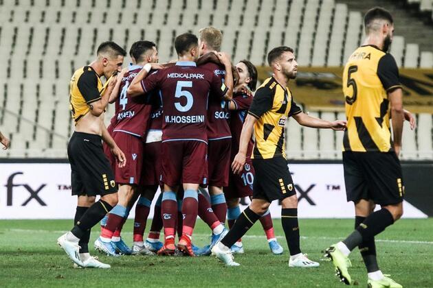 Trabzonspor'dan futbol resitali