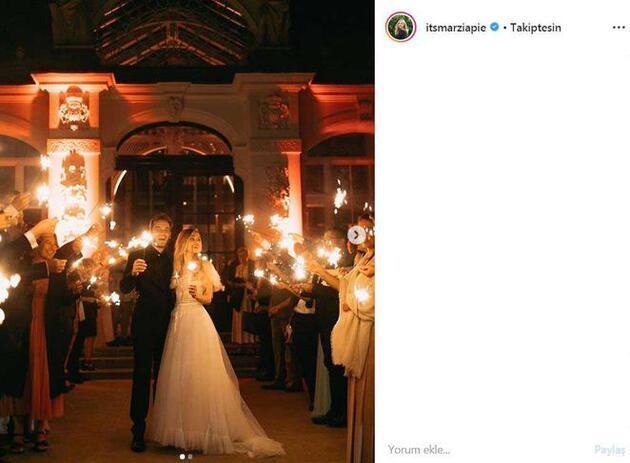 Fenomenlerin düğünü göz kamaştırdı
