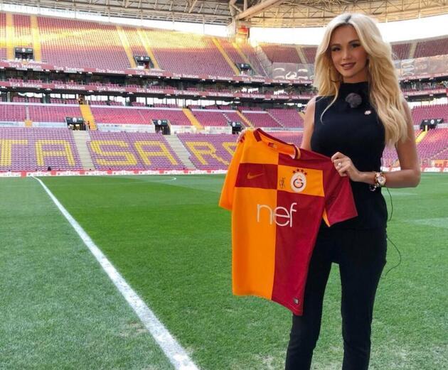 Victoria Lopyreva Türkiye'ye geldi
