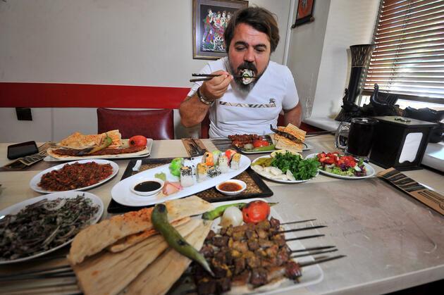 Biri Uzakdoğu'dan biri Adana'dan! İki farklı lezzet aynı masada buluştu