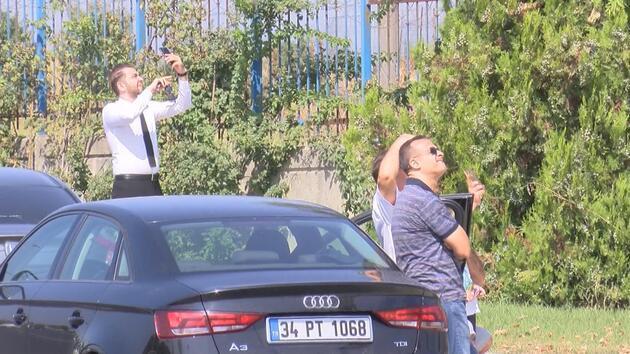 Atatürk Havalimanı çevresinde sürücüler telefona sarıldı