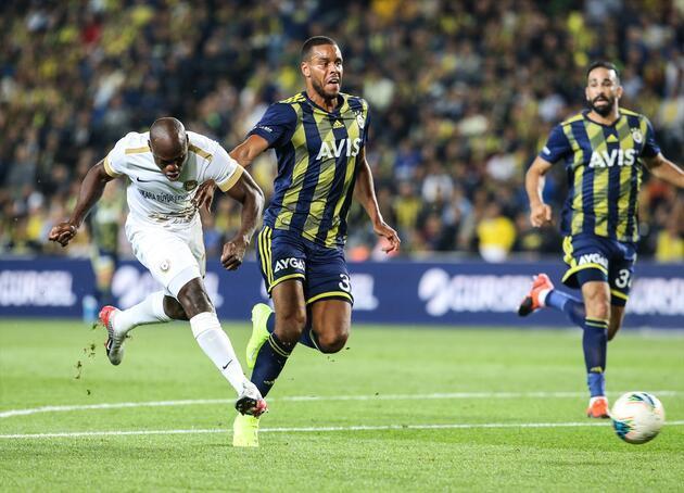 Fenerbahçe evinde Ankaragücü'nü yendi