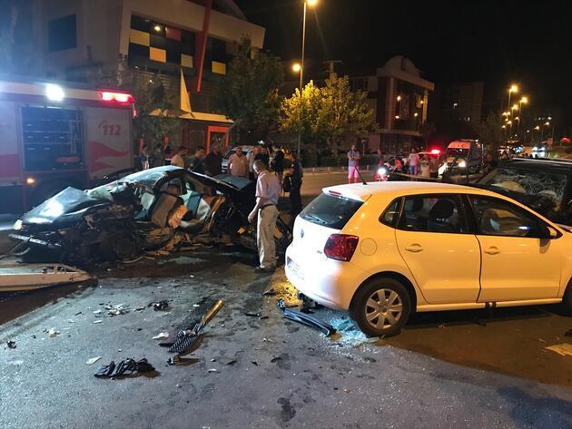 Antalya Muratpaşa'da zincirleme facia! 2 ölü, 6 yaralı!