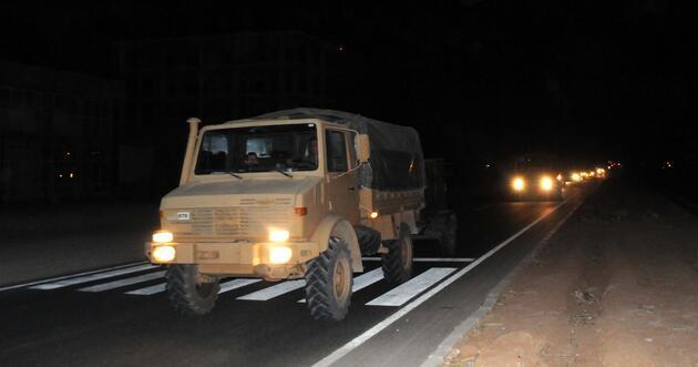 Şanlıurfa'da sınıra zırhlı araç sevkiyatı!