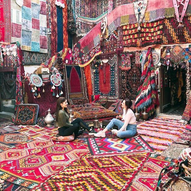 Kapadokya'da tarihi han fotoğraf stüdyosuna döndü