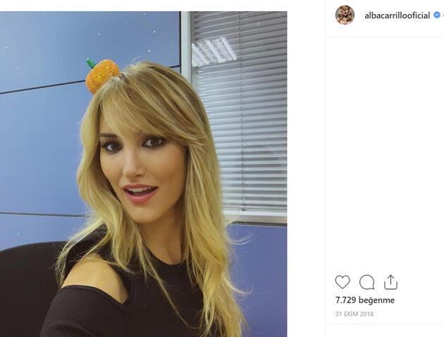 İspanyol model Alba Carrillo'dan olay itiraf