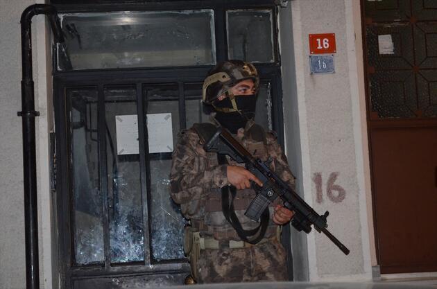 İstanbul'da uyuşturucu operasyonu! 20 adrese eş zamanlı baskın!