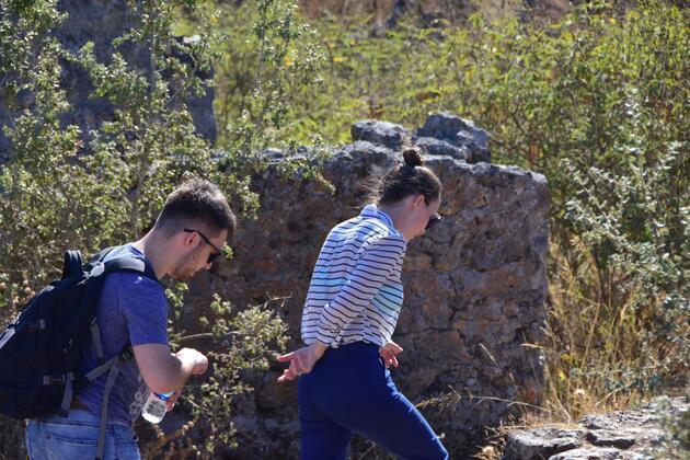 'Gladyatör-2' filminin çekimi için tarihi Kayaköy'de heyecan dorukta