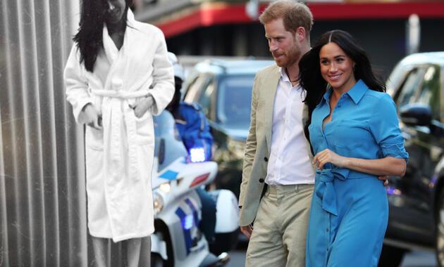 Rol arkadaşı eski fotoğrafları ortaya çıkardı, kraliyet çifti zorda kaldı