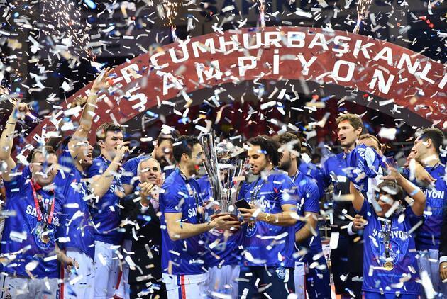 35. Cumhurbaşkanlığı Kupası'nı Anadolu Efes kazandı