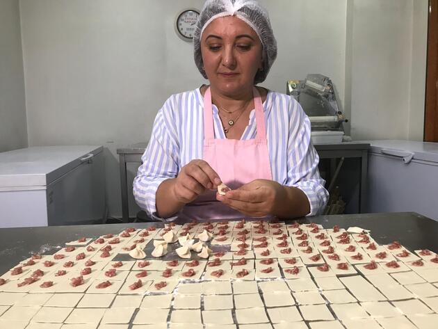 Annesinden yapmayı öğrendiği mantıyla 'Kadın girişimci' oldu