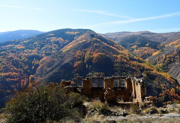 """Doğu Karadeniz """"güz renkleri"""" ile bir başka güzel"""