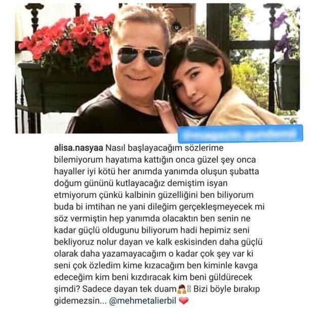 Mehmet Ali Erbil ve Alisa Nasya Deniz aşkı kanıtlandı