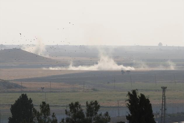 Son dakika... İşte Barış Pınarı Harekatı'ndan ilk görüntüler