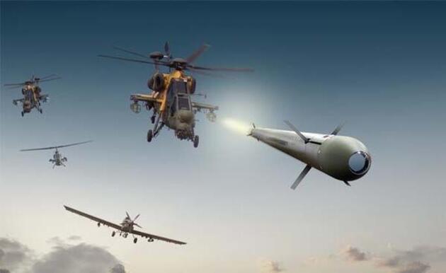 İşte 'Barış Pınarı Harekatı'nda kullanılan silahlar