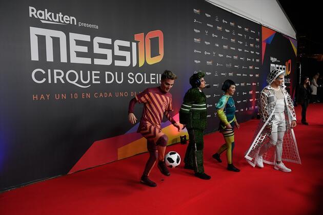 Messi'den esinlenen sirkin galası yapıldı