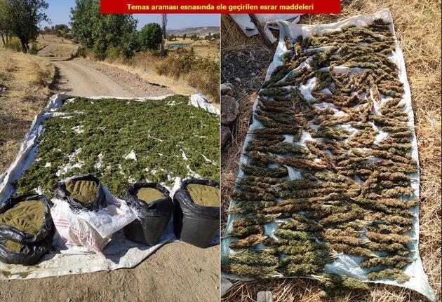 Diyarbakır'da PKK'ya uyuşturucu darbesi