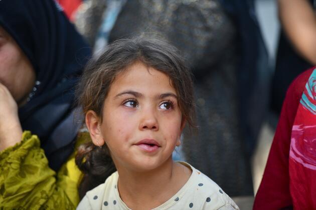 11 yaşındaki Elif için tören düzenlendi