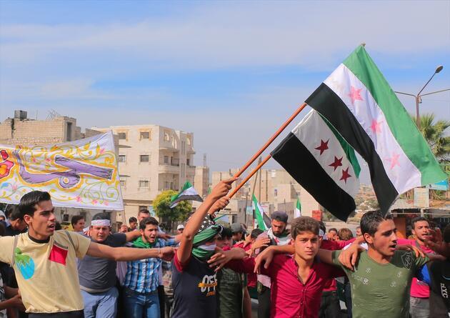 İdlib halkından Barış Pınarı Harekatı'na destek