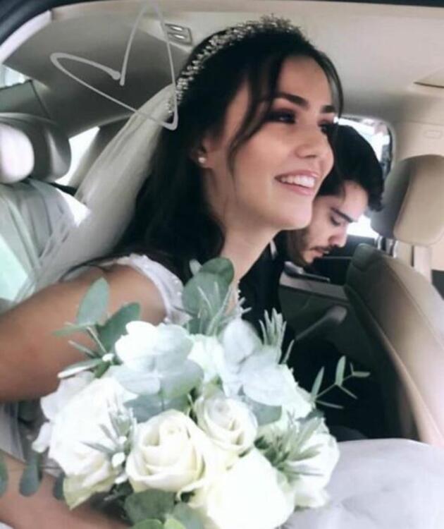 Jet nikah! Berkay Hardal ile Dilan Telkök evlendi...