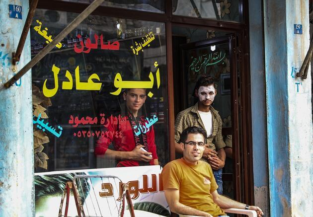Mehmetçik'in terörden arındırdığı El Bab'da günlük yaşam
