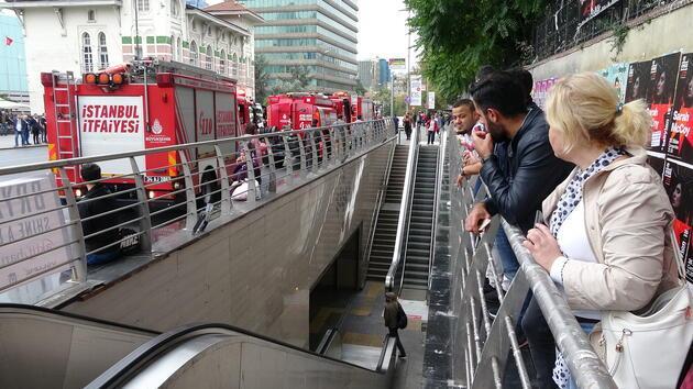 Şişli-Mecidiyeköy metro durağında intihar