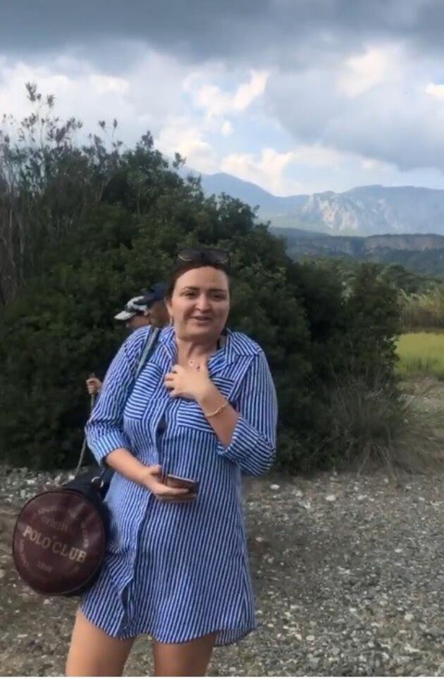 Antalya'da hortum anbean görüntülendi