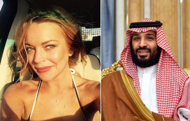 Baba yanıt verdi: Ünlü şarkıcı Lindsay Lohan, Veliaht Prens Selman ile aşk yaşıyor mu?