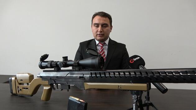 Cumhurbaşkanı Erdoğan'a hediye edilecek tüfeğe 3 ülkeden sipariş