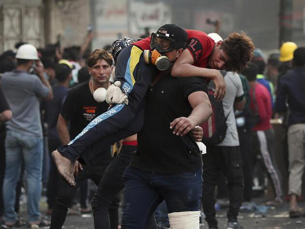 Irak'ta kan akmaya devam ediyor! Gösteriler haftalardır sürüyor