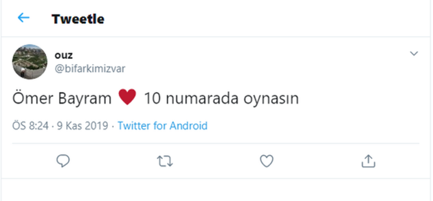 Ömer Bayram sosyal medyayı salladı!