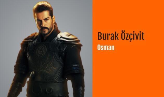 Kuruluş Osman oyuncuları ve karakterleri kimler? (Kuruluş Osman oyuncu kadrosu)