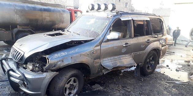 Terör örgütü PKK/YPG El Bab'da sivilleri hedef aldı