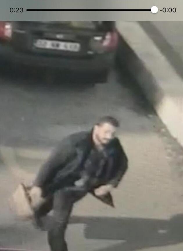 Edirne'de 2 kadının yüzüne yakıcı sıvı atan saldırgan kamerada