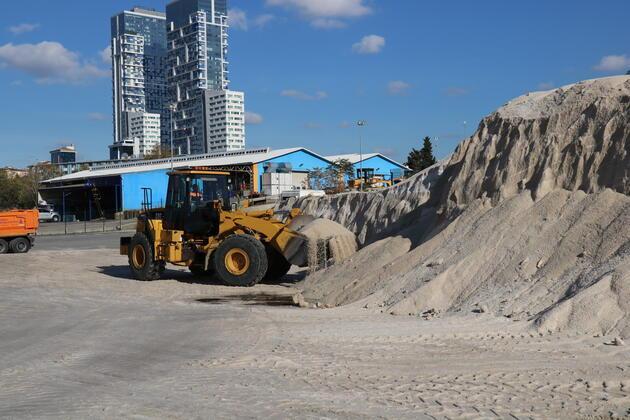 İstanbul'un tuz ihtiyacı bu tepeden karşılanacak