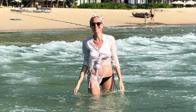 Derin Mermerci boşandıktan sonra soluğu Phuket'te aldı