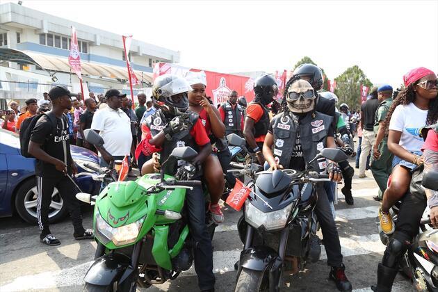 Afrika'nın en büyük sokak partisi!