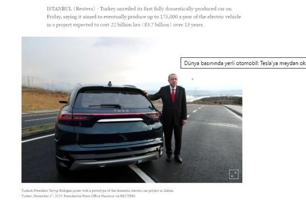 Yerli otomobil Avrupa manşetlerinde; Rüya gerçek oldu!