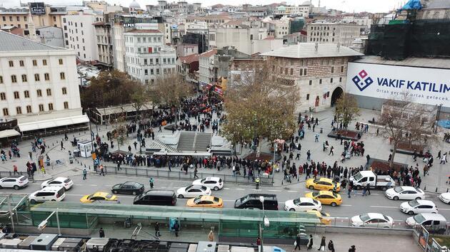 Çekilişe 2 gün kala Eminönü'nde 'umut' kuyruğu