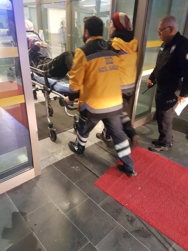 12 işçi zehirlenme şüphesiyle hastaneye kaldırıldı