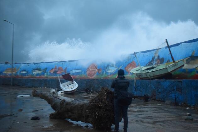 Limandaki tekneler için büyük tehlike! Meteoroloji bir kez daha uyardı