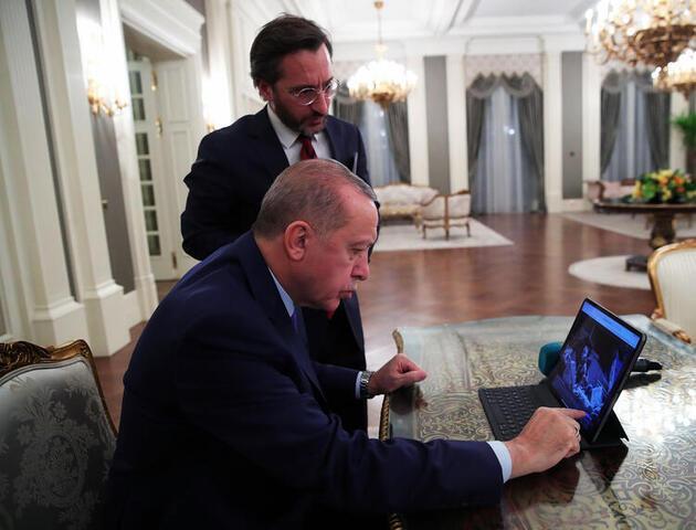 İşte Cumhurbaşkanı Erdoğan'ın seçtiği fotoğraflar