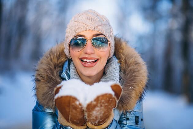 Kış mevsiminde gözleri korumanın yolları