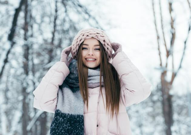 Kışın ışıl ışıl cilt için tüyolar