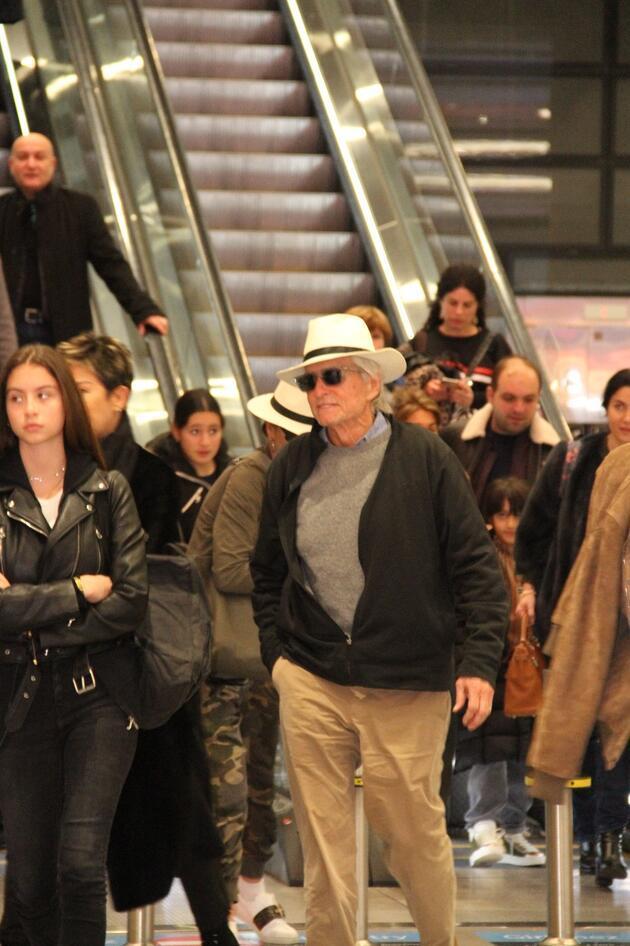 Hollywood'un ünlü çifti tatil için İstanbul'da